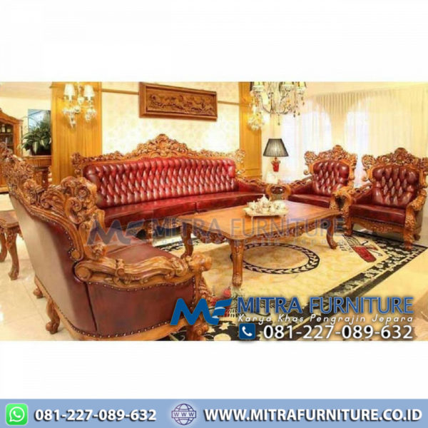 Sofa tamu set ganesa royal