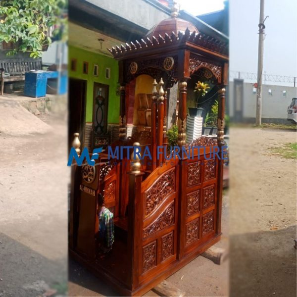 Jual Mimbar Masjid Jati Jepara