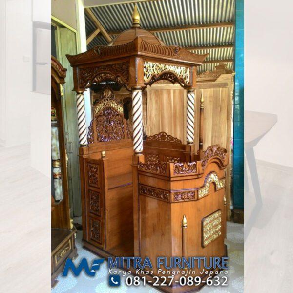 Harga mimbar-masjid-ukir-jepara